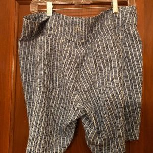 JoFit Shorts - JoFit Navy/White Print Shorts